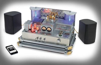 Raven Bluetooth Amplifier – ламповый усилитель с Bluetooth.