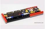 Настоящая рабочая клавиатура, сделанная из Lego.
