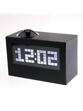 Многофункциональный говорящий проекционный будильник