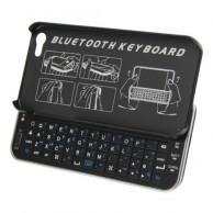 Беспроводная ультратонкая клавиатура-слайдер для iPhone 5
