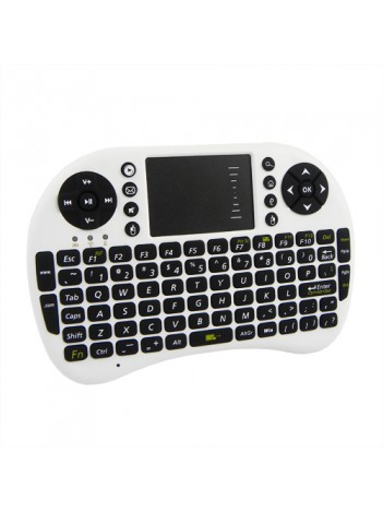 Портативная мини 2.4G беспроводная клавиатура с тачпадом