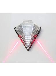 Задний фонарь с лазерной подсветкой
