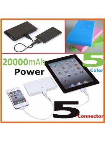 Универсальное портативное зарядное устройство 20000mAh