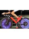 Колесная подсветка для велосипедов с программируемым текстом