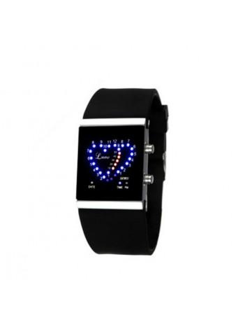 Светодиодные часы Double Heart